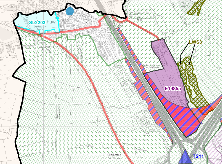 Local Plan Oakenshaw amended 1016